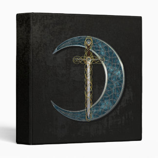 Celtic Moon And Sword Binder