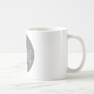 Celtic,Moon Watching Hare's Coffee Mug