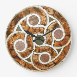 Celtic Mosaic on Acrylic Clock