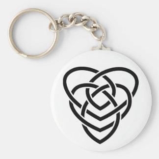 Celtic Motherhood Knot Keychain