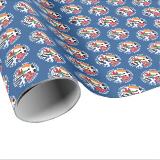 Celtic Nations Flags Gift Wrap