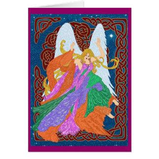 Celtic Nouveau Angel Card