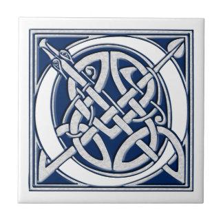 Celtic O Monogram Tiles