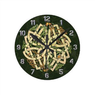 Celtic Ornament Clock