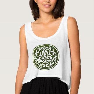Celtic ornament design from mosspathstoneworks.com tank top