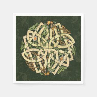 Celtic Ornament Disposable Napkins