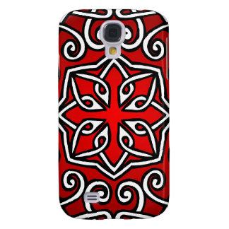 Celtic Pattern in Red (Closeup)