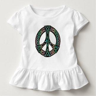 Celtic Peace - Celtic Knot Peace Sign Toddler T-shirt