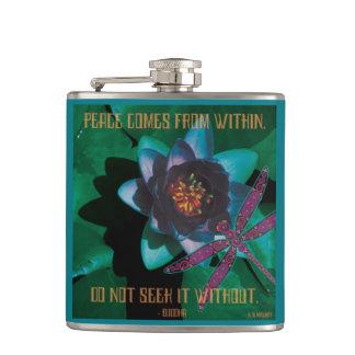 Celtic Peace Hip Flask