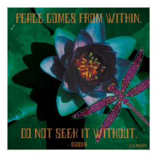 Celtic Peace Poster