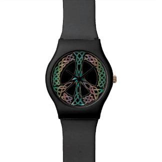 Celtic Peace Sign Watch