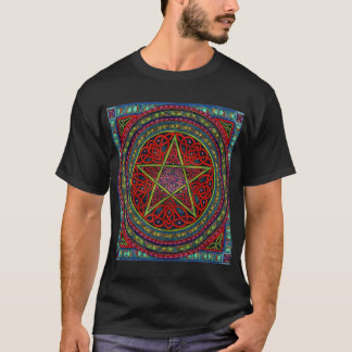 celtic pentagram 01 spellcraft T-Shirt