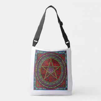 Celtic Pentagram Crossbody Bag