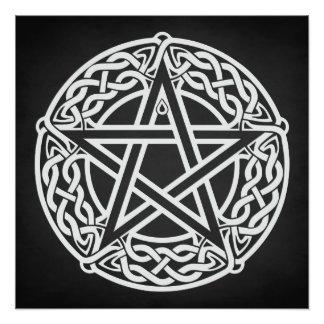 Celtic Pentagram Photo Print