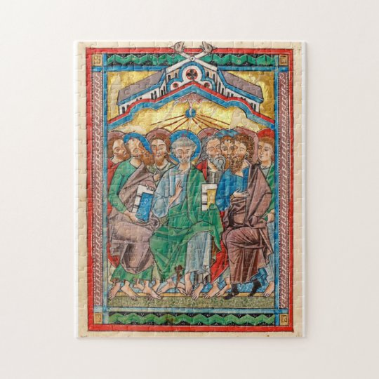 Celtic Pentecost Icon Jigsaw Puzzle