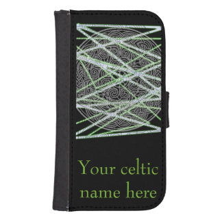 Celtic phone cover with name phone wallet case
