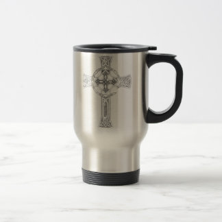 "Celtic Quest ""Cross"" Travel Mug"