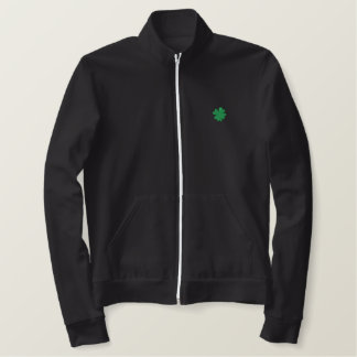 Celtic Quest Embroidered Track Jacket
