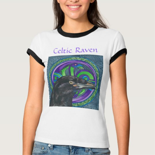 Celtic Raven Women's Tee Shirt