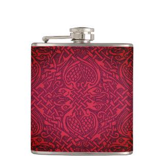 Celtic Red Flask