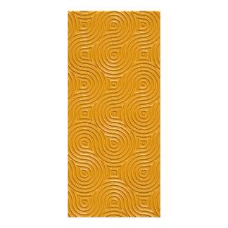 celtic rings pattern rack card