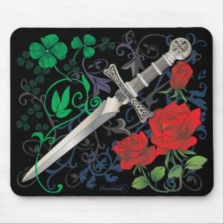 Celtic Rose Mouse Pad