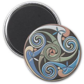 Celtic Round Design - Magnet