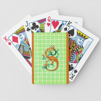Celtic Seahorse Playing Cards
