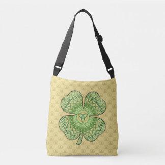 Celtic Shamrock All-Over-Print Bag