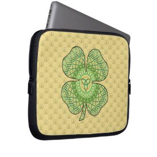 Celtic Shamrock Laptop Case