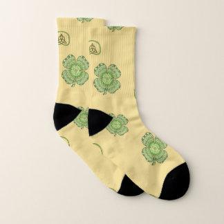 Celtic Shamrock Socks 1