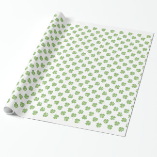 Celtic Shamrock St. Patrick's Day Wrapping Paper