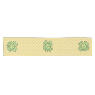 Celtic Shamrock Table Runner