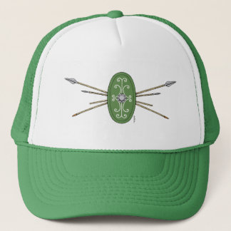 Celtic Shield and Spears Trucker Hat