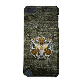 Celtic Shield and Swords iPod Touch 5G Cases