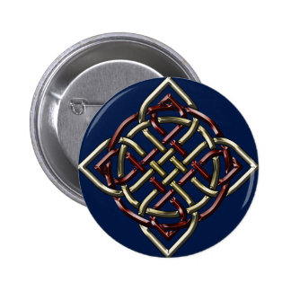 Celtic Shield Knot 2 Inch Round Button