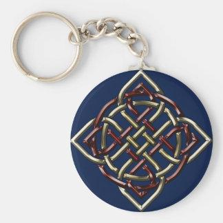 Celtic Shield Knot Basic Round Button Keychain