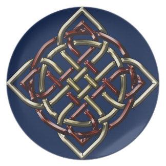 Celtic Shield Knot Dinner Plate