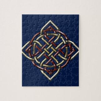 Celtic Shield Knot Jigsaw Puzzle