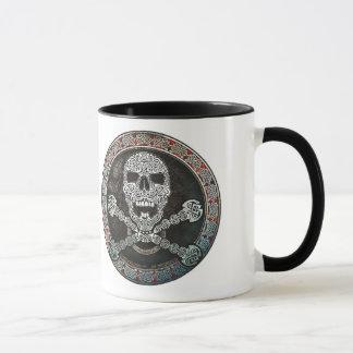 Celtic Skull & Crossbones Mug