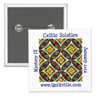 Celtic Solstice Button