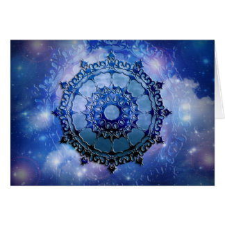 Celtic Spirit Mandala Card