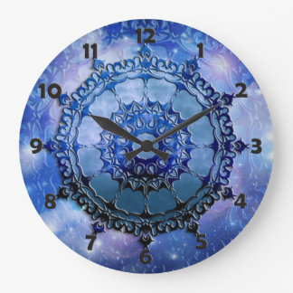 Celtic Spirit Mandala Large Clock