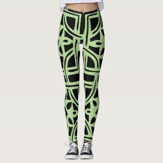 Celtic Square Pattern Leggings