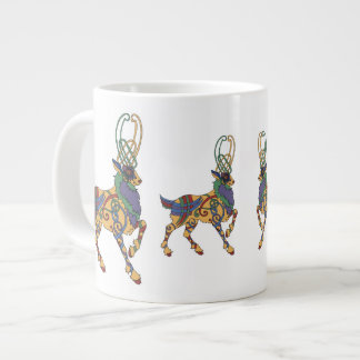 Celtic Stag Jumbo cup