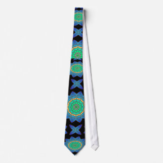 Celtic Stained Glass Tie