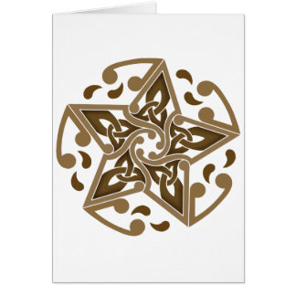 Celtic Star Card