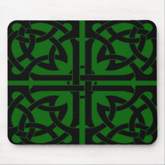 Celtic style mouse pad
