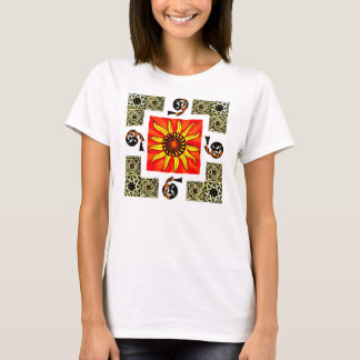 Celtic Sun Mandala Two Sided Shirt