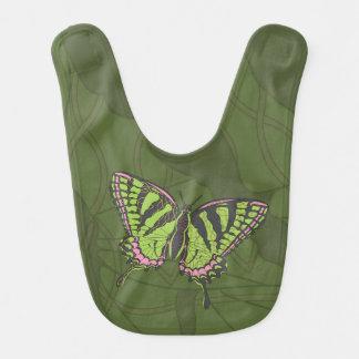 Celtic Swallowtail Baby Bib
